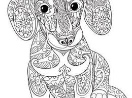 Free Printable Dachshund Coloring Pages Lovely 13 Best Dog Art