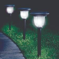 Solar Lights Solar Garden Lights  GardenerscomSolar Powered Patio Lights