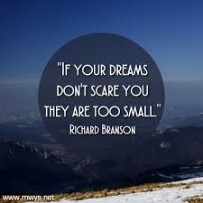 If Your Dreams Don T Scare You Quote Best of If Your Dreams Don't Scare You ø Eminently Quotable Quotes