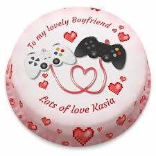 Birthday Cakes Personalised Gifts For Your Boyfriend Bakerdays