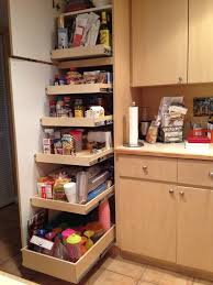 Kitchen Closet Shelving Sliding Shelves Are Excellent For Small Kitchen Home Shelving Ideas