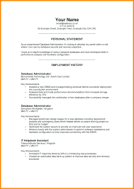 Premade Resume Photos Of Free Job Resumes Templates Personal Samples