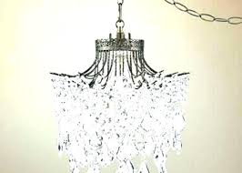 full size of hanging chandelier plug in lamp home depot swag crystal with shade improvement engaging