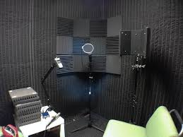 diy recording sound booth vocal room 1