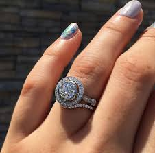 are halo engagement rings tacky designers diamonds