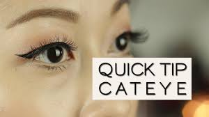 how to daytime to night time cat eye quick tip eyeliner for hooded or asian eyes viestelook you