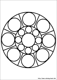 Small Picture Mandalas coloring pages on Coloring Bookinfo