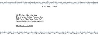 Letter Bussines How To Write A Proper Business Letter Ultimate Estate Planner