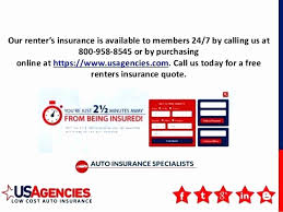 Us Agencies Quote