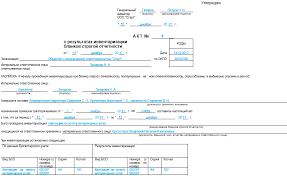 Порядок проведения инвентаризации БСО нюансы nalog nalog ru Акт инвентаризации бланков строгой отчетности образец