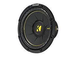 compc 10 inch subwoofer kicker® 10 compc 4 ohm svc