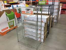 or go for the hdx 4 shelf storage unit which holds up to 350 pounds of evenly distributed weight now on for 39 97