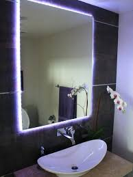 bathroom mirrors with led lights. Lighting Bathroom Mirror Led Light Fixtures Tips And Ideas For Modern  Lamp Mirrors With Lights