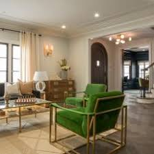 art deco living room. Exellent Deco Neutral Art Deco Living Room With Green Armchairs Throughout N