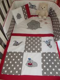 dumbo baby quilt cover emroidered dumbo 7 piece baby bedding set more