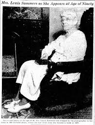 Mrs. Lewis Summers as She Appears at Age of Ninety - Newspapers.com