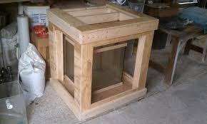 cube aquarium stand