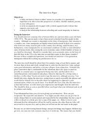 example of an interview essay template example of an interview essay