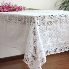 rectangular dining table cover cloth knitted vintage: hot sale fashion american pastoral knitting lace tablecloths lace sofa towel cloth art cotton crochet table