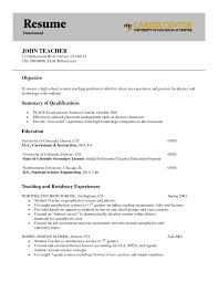 interesting art teacher functional resume example with and summary functional resume objective