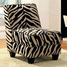 zebra print accent chair decor black white animal modern contemporary floor living room chairs coaster leopard
