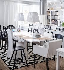 Esszimmer In Schwarz Weiß Wohnzimmer Esstisch Ike