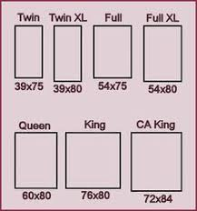 Bed Sizes Chart White Bed