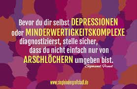 Zitat Sigmund Freud Depressionen Minderwertigkeitskomplexe