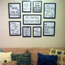 Image of: diy wall art and quotes