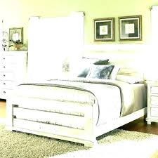 Tag Archived Of Distressed White Wood Bed Frame : Amusing Rustic ...