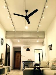 hallway track lighting. Ceiling Fan Track Lighting Kit Perfect Attachment In Hallway With Speakers System A