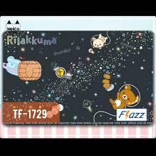 Tf 1702 Bca Flazz Card Sticker Meico Rilakkuma Bakery Shopee