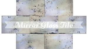 wonderful antique mirror tiles in glass tile antiqued wall impressing of mirrored subway tiles luxury mercury glass best antique
