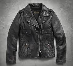 womens wild distressed leather biker jacket