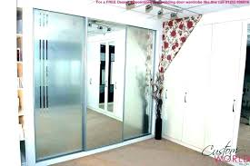 sliding door off track sliding door mirror closet mirrored doors for repair off track aluminum