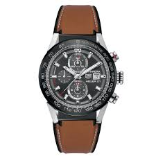 tag heuer carrera heuer 01 anthracite leather strap car201wft6122 jpg