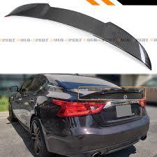 Details About For 2016 19 Nissan Maxima 8th Highkick Duckbill Carbon Fiber Trunk Spoiler Wing