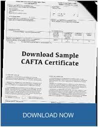 Cafta Certificate Of Origin Form Pretty Customs Pro Forma Invoice