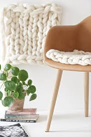 knitted felted seat pad design mom
