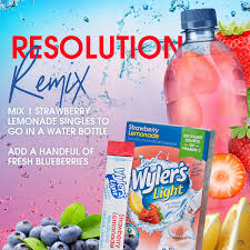 Wyler S Light Strawberry Lemonade Ingredients Kick Off 2019 With A Healthy And Hydrating Beverage Recipe