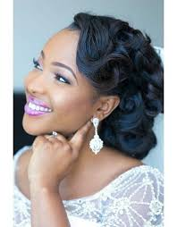 Black Women Hair Style black wedding hairstyle black women wedding hairstyles half up 1933 by wearticles.com