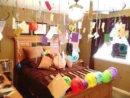 happy birthday room decoration suprise surprise pinterest
