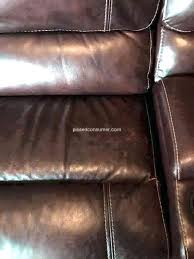 color coming off my leather couch furniture row expert sofa mart cloud leat