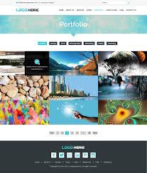 website portfolio template psd design all website portfolio template