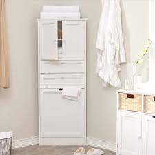 corner linen cabinet bathroom with home decorators collection