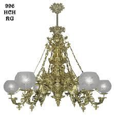 victorian chandelier neo rococo cornelius 6 light circa 1840