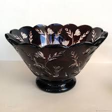 vintage kitchenware livemaster handmade fruit vase coloured glass