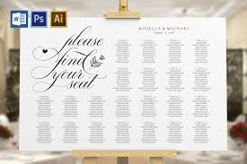 Wedding Seating Chart Sign Tos_11
