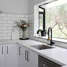 Black Cabinet Handles Cottage Kitchen Design Black Kitchen Handles Kitchen Design
