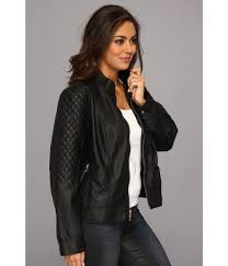 Jessica simpson Plus Size Quilted Faux Leather Moto Jacket with ... & Gallery Adamdwight.com